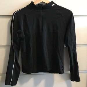 Black Roots Athletic Quarter Zip